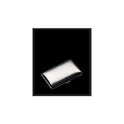 Sillems Zigarettenetui anatomisch, 925er Sterling Silber 1104