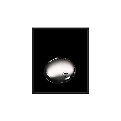Pillendose rund, versilbert 3108