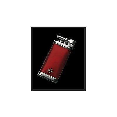 Sillems Old Boy Feuerzeug Dunkelrot 1186DR