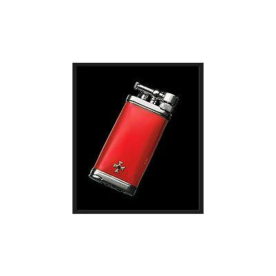 Sillems Old Boy Feuerzeug Rot 1186R