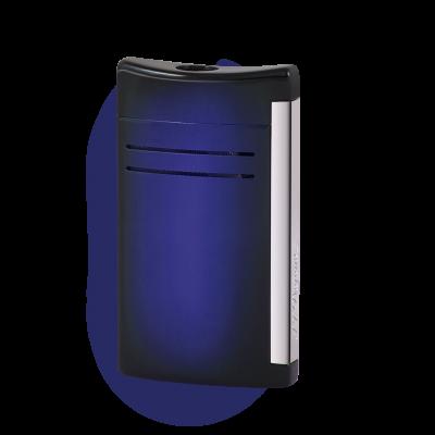 S.T.Dupont MaxiJet (Sunburst Effekt Blau)