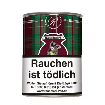 RATTRAY'S AROMATIC Collection BAGPIPER'S DREAM / 100 Gramm Dose