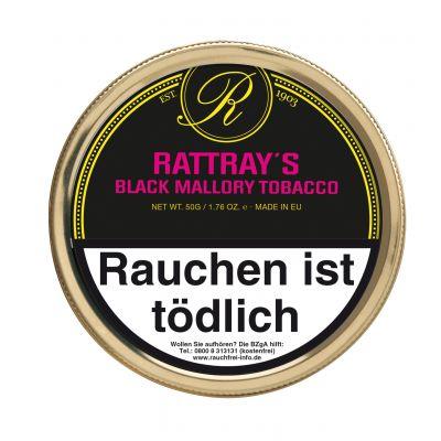 RATTRAY'S - BRITISH LINE BLACK MALLORY / 50 Gramm Dose