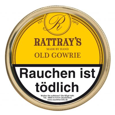 RATTRAY'S - BRITISH LINE OLD GOWRIE / 50 Gramm Dose