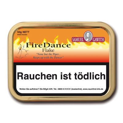 Gawith Fire Dance Flake / 50 Gramm Dose
