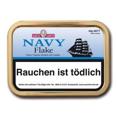 Gawith Navy Flake / 50 Gramm Dose